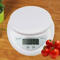 Mini Electronic Platform Scale for Kitchen Food Baking Diet Postal Weight 5kg/Be