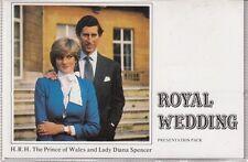 FALKLAND ISLANDS DEPENDENCIES : 1981 Royal Wedding  special DEREHAM pack