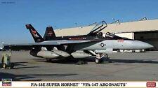 HASEGAWA 1:72 AEREO F/A-18E SUPER HORNET VFA-147 ARGONAUTS LIMITED EDITION 01988