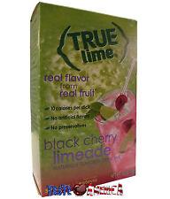 True Lime Black Cherry Limeade Drink Mix 5 Sachet Pack 15g