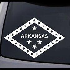 "2 Arkansas State Flag AR Home Permanent Vinyl Decal Laptop Window Car Sticker 8"""