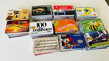 Lot de 440 cartes telephoniques anciennes France Telecom Cabine Ptt