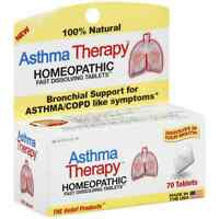 Asthma Therapy Homeopathic Fast Dissolving Tablets 70 ea (Pack of 2)