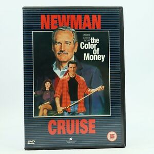 The Color of Money Paul Newman Tom Cruise DVD R2 GC Free Tracked Post