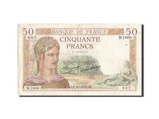 Billets, 50 Francs type Cérès #205474