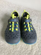 Surprize by Stride Rite Toddler Boy's Land & Water Shoes Navy & Green Size 10