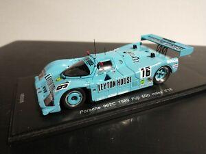 Spark KB 1/43 Porsche 962C Leyton House #16 Fuji 500 Miles 1989 LE KBS056