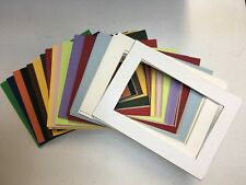 Framing Mat for Postcards Color Choices