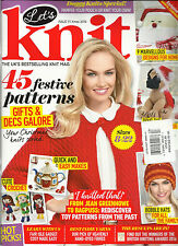 LET'S KNIT,  THE UK'S BEST SELLING KNIT  MAGAZINE     XMAS, 2016   ISSUE 7111