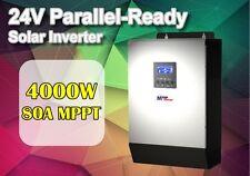 24 V 5kva 4000 W solaire onduleur 80 A MPPT solaire chargeur 60 A Batterie Chargeur