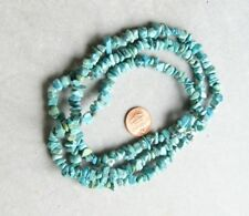 Tibet Turquoise Chip Beads Semiprecious Stone Like this strand 35 in Natura