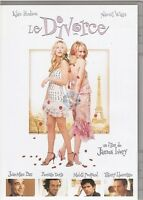 LE DIVORCE DVD kate hudson thierrry lhermitte romain duris jean marc barr
