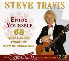 STEVE TRAVIS - ENJOY YOURSELF - 68 GREAT SONGS (NEW SEALED 2CD)