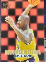 SHAQUILLE O'NEAL SHAQ LOS ANGELES LAKERS 1996-97 ULTRA BOARD GAME SP INSERT HOT!