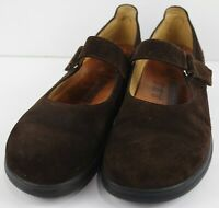 Footprints by Birkenstock Women's Mary Janes Suede Leather Size EU 40 US 9-9.5