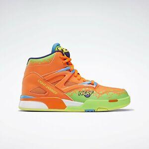 "{GY8068} Reebok Nerf Pump Omni Zone II ""Light Jammer"" Basketball Sneakers *NEW*"