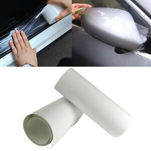 Clear Door Sill Edge Paint Protect Vinyl Cover Film Sheet Anti Scratch Sticker