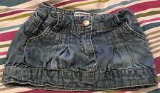 Girls Vert Baudet Mini Tulip Denim Skirt, Age 3