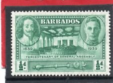 Barbados GV1 1939 Gen. Assembly 1/2d, sg 257 H.Mint