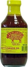 6 Pack Scott's Spicy Barbecue Sauce 16 oz Sugar Free Fat Free No Carbs Carolina