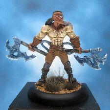 Painted Wyrd Miniature Injun Joss Steampunk Warrior