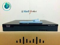 LOT OF 3 CISCO1921-SEC/K9 • Cisco 1921 Gigabit Router ■SAMEDAYSHIPPING■