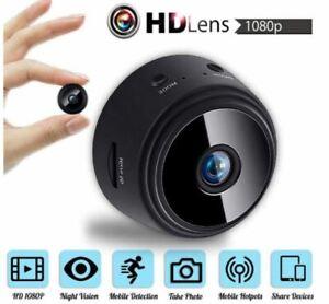 Wireless WiFi Mini IP Spy Camera DVR Hidden Home Security Night Vision HD 1080P