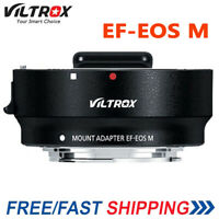 Viltrox Auto Focus EF-EOS M MOUNT Lens Mount Adapter for Canon EF EF-S Lens EOS
