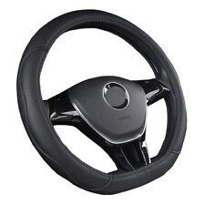 Car Steering Wheel Cover D Shape For Audi TT S3 S5 SQ5 TTS R8 VW jetta Golf GTI