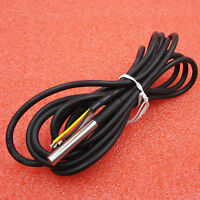 DS18B20 Waterproof Digital Probe Temperature Sensor Silicone Cable Thermometer