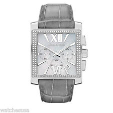 Michael Kors MK5674 - Uptown Glam Gia Chronograph Leather Watch