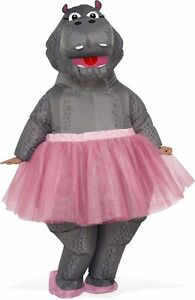 Rubie's Costume Co - Hippo Inflatable Adult One Size, As Shown