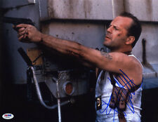 Bruce Willis SIGNED 11x14 Photo John McClane Die Hard ACTION PSA/DNA AUTOGRAPHED