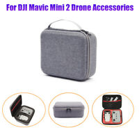 Gray DJI Mavic Mini 2 Drone Controller Travel Carrying Case Portable Storage Bag