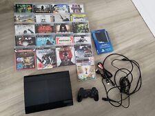 Sony Playstation 3 Super Slim 500GB + 21 Spiele