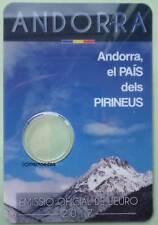 Andorra 2 Euro Münzkarte 2017 Pyrenäen CoinCard Folder leer empty