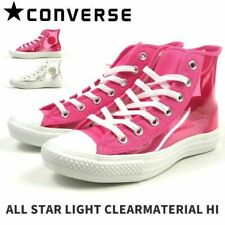 CONVERSE CHUCK TAYLOR ALL STAR LIGHT CLEARMATERIAL HI 100 PINK JPN