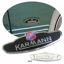 VW Karmann Ghia Side Badge Emblem 1960-1974 Convertible OR Coupe 141-853-901 A