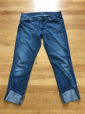 Seven7 For All Mankind Jeans Embellished Ankle Size 29