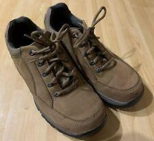 CLARKS ACTIVE AIR Flow System Men's Tan Suede Leather Lace Up Shoes Size 7