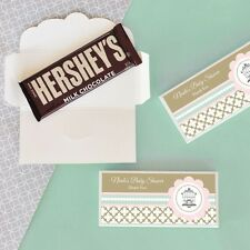 24 Personalized Birdcage Love Birds Candy Bar Wrappers Wedding Favors