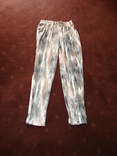 COTTON ON CASUAL ELASTIC WAISTED PANTS SIZE S