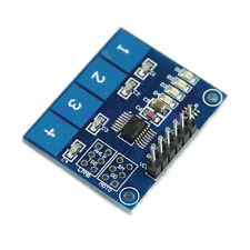 TTP224 4-way Capacitive Touch Switch Module Digital Touch Sensor For Arduino