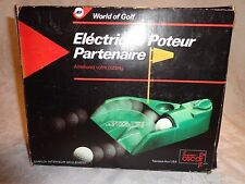 World of Golf Electric Putting Partner Includes 3 Balls Sporting Practice Aid