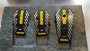 Momo pedals with fittings ,.