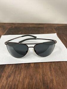 Smith Optics Serpico Slim Sunglasses, Silver Frame w/ Polarized Gray Lens