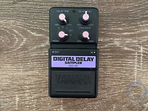 Yamaha DDS-100, Digital Delay Sampler, Made In Japan, Early 90s, Guitar Effect