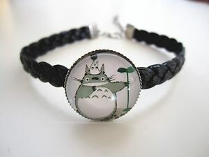 Trendy Infinity Totoro Friendship Fashion Knitted Charm Bracelet hand Strap Gift