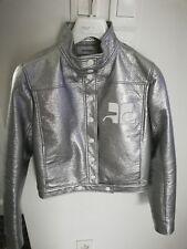 veste iconique Courrèges argent
