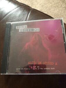 Bruce Dickinson - Alive In Studio A 2CD Set